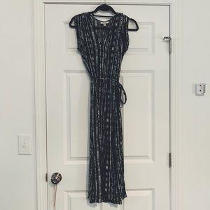 Anthropologie maxi dress size XSP